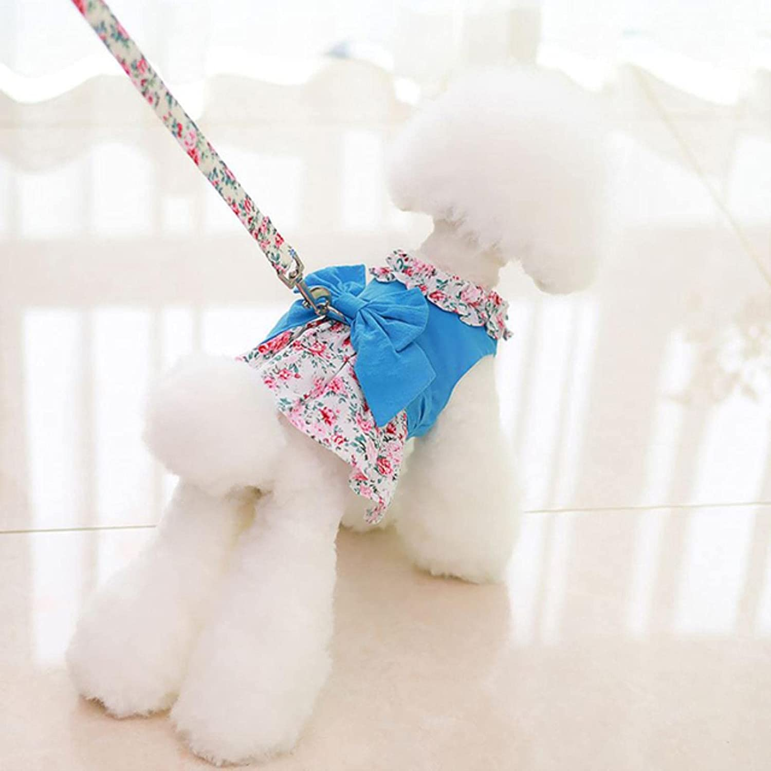 Heigou Sales results No. 1 New Dog Cat Dress with FloralBow Leas Animer and price revision Shirt Matching