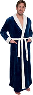 ロス?Michaels Mens Long Robe?–?Full Length Big & Tall Bathrobe