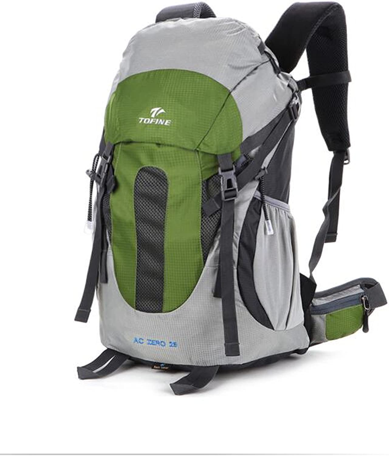 TOFINE Traveling Daypack Lightweight Backpacking Gear Rain Cover Green 25 Liter