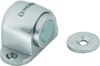 Hermex TOMA-3, Tope para puerta, magnético de cromo