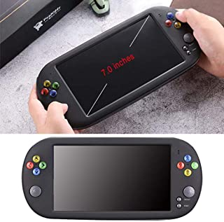 Handheld Game Console PSP X16 7-inch Large Screen HD Handheld GBA Arcade Game NES Nostalgic FC Handheld Game Console, 8GB/16GB Capacity, Gift For Kids And Adults
