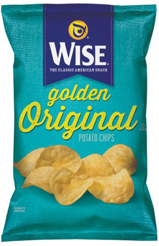 Wise Snacks Original Golden Classic Potato 1.25 Popular popular Popular brand in the world 36 Chips Ounce