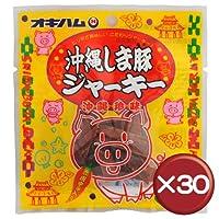 オキハム 沖縄しま豚ジャーキー 12g 30袋セット