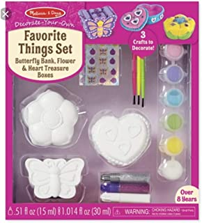 Melissa & Doug Favorite Things Set Decorate Scratch Art Mini-Pad Bundle