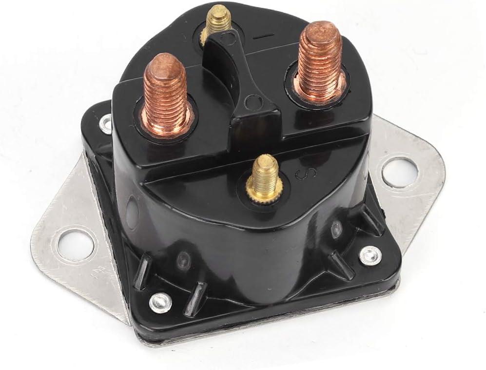 Omabeta Contactor de relé de solenoide de cabrestante, Control de cabrestante, Accesorios de 12 V, relé de olenoide de 12 voltios para Motor fueraborda Johnson Evinrude B80 SW275