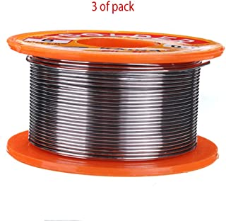 3 x 0.8mm 50g Rosin Core Solder 63/37 Tin Lead Flux Soldering Welder