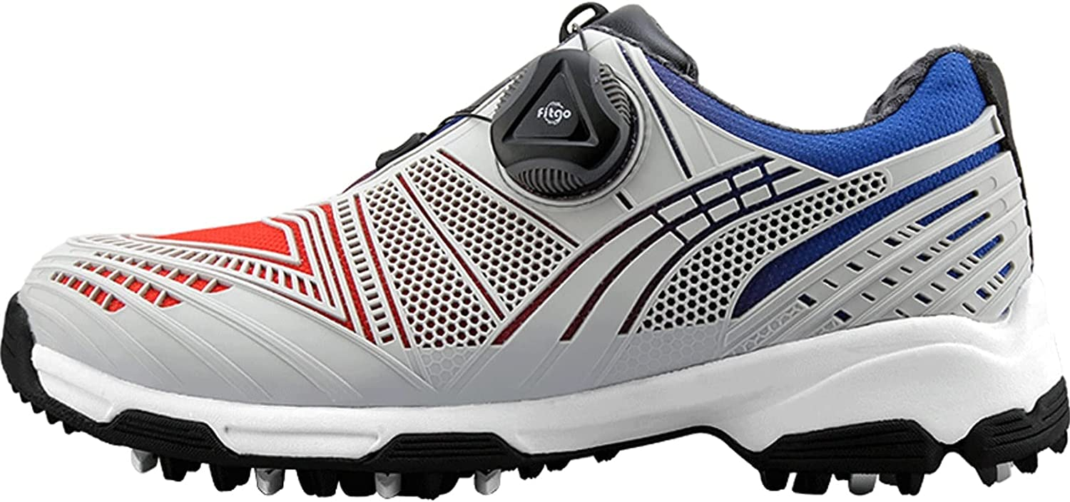 AIAIⓇ Fees free!! Golf Shoes NEW for Waterproof Children - B