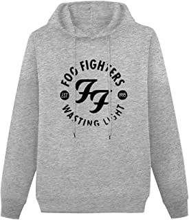 """LIAN Sweater Live Nation FOO Fighters Wasting Light Male""""s Hoody, Sunny and Handsome Pullover Sweater"""