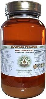 Saint John's Wort Alcohol-Free Liquid Extract, Organic Saint John's Wort (Hypericum Perforatum) Dried Herb Glycerite 32 oz Unfiltered