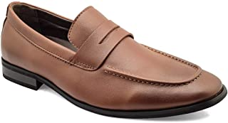 tresmode Men's Formal Penny Shoes for Office Wear