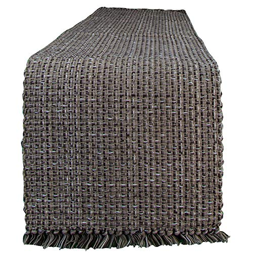 "Tweed Table Runner By Park Designs - Espresso 13"" x 54"""