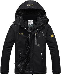 MAGCOMSEN Snowboarding Jackets for Men Warm Waterproof Jacket Ski Jacket Military Tactical Jacket Coat Winter Parka with H...