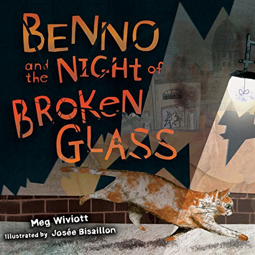 Benno and the Night of Broken Glass audiobook cover art