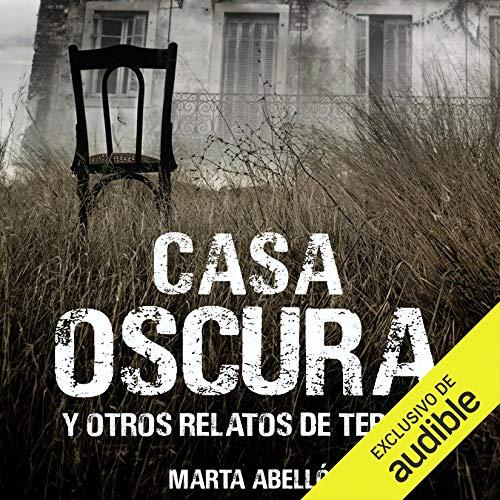 Diseño de la portada del título Casa oscura y otros relatos de terror