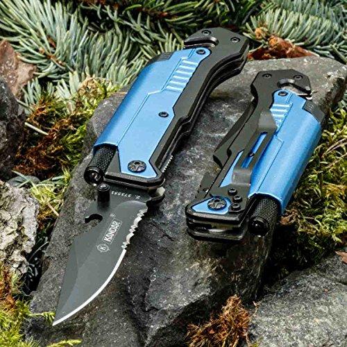 KanDar JM-K14 • KLAPPMESSER • TASCHENMESSER TAKTISCHES Messer • Gesamtlänge: 217mm • PTM-de.