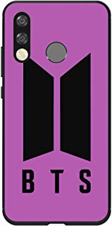 Okteq Case Cover for Huawei P30 lite Shock Absorbing PC TPU Full Body Drop Protection Cover matte printed - BTS purple By ...