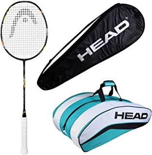 HEAD Head Airflow 5000 Badminton Racquet Set with Xenon 900 kitbag