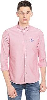 Bar Harbour Men's Pink Casual Shirt