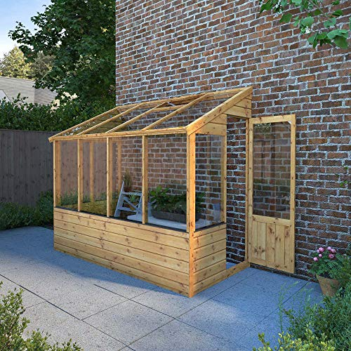 lean to greenhouse frame types
