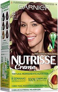Coloração Nutrisse Creme 52, Marrom Açaí, Garnier