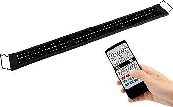 NICREW RGB Luz LED Acuario, 24/7 Lámpara de la Planta de Acuario con Control Remoto, Acuario Completamente Automatizado luz LED, 99-137 cm, 26W