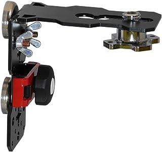 レーザーフィックス 強力ネオジムマグネット レーザー墨出し器用L型マウントブラケット レベル保持器 ライトゲージ