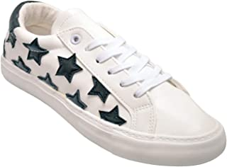 Womens Sneakers Star Shoes, Comfortable Casual Fashion Shoes Stripe
