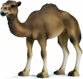 Schleich Dromedary Mare Toy Figure, Brown, 14355