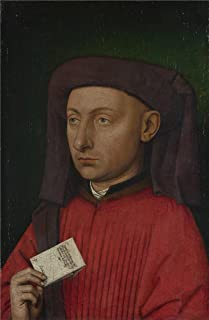 Oil Painting 'Follower Of Jan Van Eyck-Marco Barbarigo,about 1449-50', 10 x 15 inch / 25 x 39 cm , on High Definition HD canvas prints is for Gifts And Bed Room, Hallway And Kitchen Decoration, easy