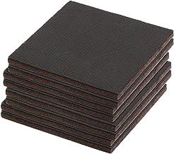 Prime-Line MP76740 Almofadas antiderrapantes resistentes para móveis, 0,6 cm de espessura x 10,16 cm x 10,16 cm quadrados,...