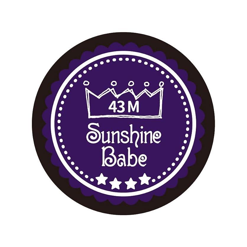 組み込むお酢選択Sunshine Babe カラージェル 43M オータムウルトラバイオレット 2.7g UV/LED対応