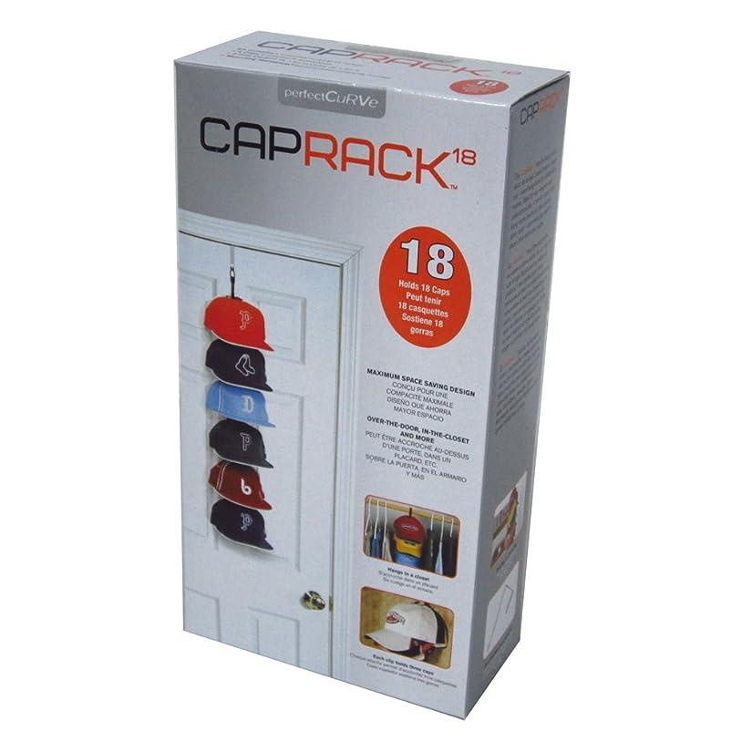 嫌悪記録おしゃれなCAPラック MINI 帽子収納 最大18個収納 特許品
