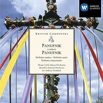 Panufnik conducts Panufnik: Sinfonia rustica, Sinfonia sacra, Sinfonia concertante