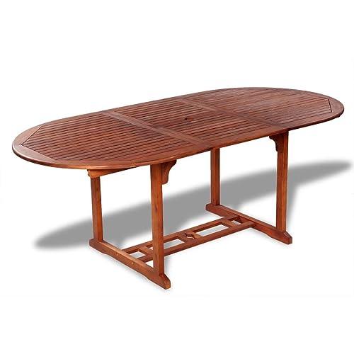 Tavoli da esterno in legno for Tavolo legno esterno