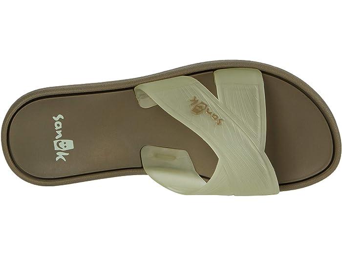Sanuk Womens Beachwalker Slide Tx Slide Sandal