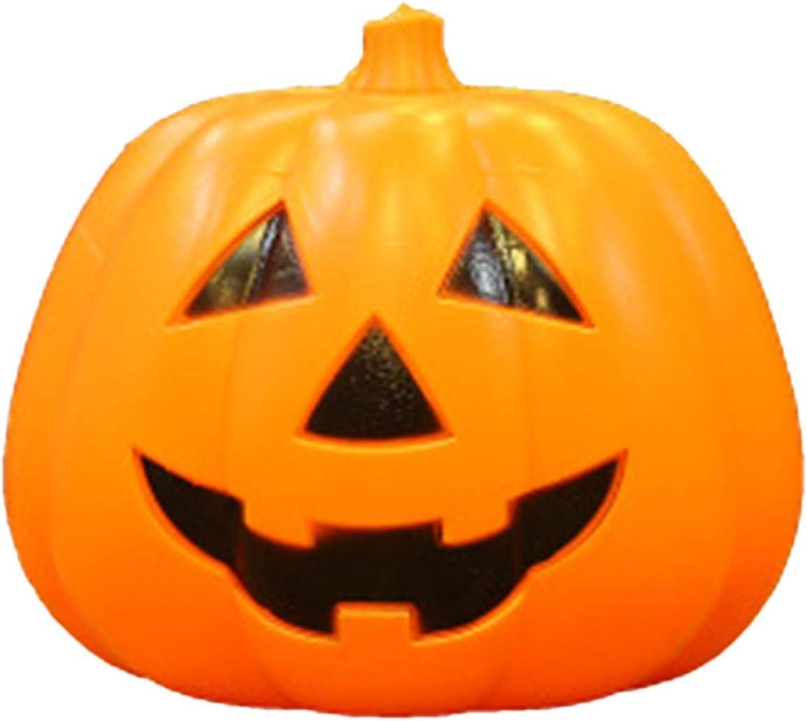 Horypt Halloween Sound Activated Ranking Charlotte Mall TOP12 Lantern Pumpk Pumpkin