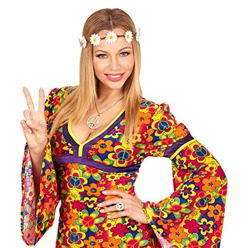 NET TOYS Bandeau Fleur Hippie | Couronne de Fleurs | Marguerites à Bandeau Fleuri | Couronne Nuptiale