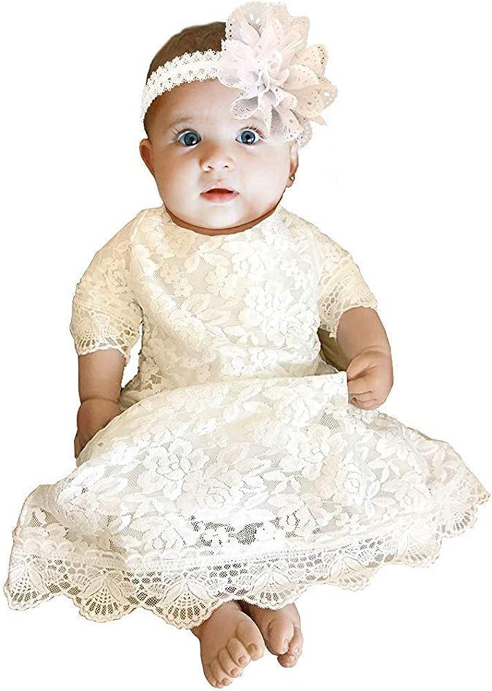 Cutiego Baby Girl Baptism Go Christening Flower Attention brand Dress Spasm price