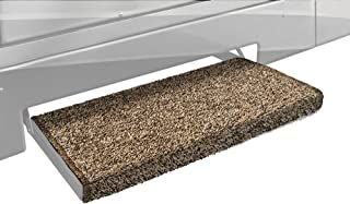 Wide Prest-O-Fit 3-Pack 2-4126 Ruggids Universal RV Step Rug Coffee Brown 22 in