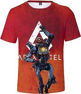Unisex T-shirt Men's Short Sleeve Apex Legends Gaming Women Sportswear Tops Premium Summer T-Shirts Tees