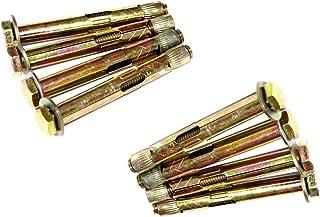 sourcing map Varilla roscada macho M6 x 60mm acero inoxidable 304 Bar cierres de tornillos 20 pcs