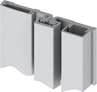 Hager 780-157 Series Aluminum Standard Duty Fire Rated Roton Continuous Geared Hinges, Full Surface, Clear Anodized, 83