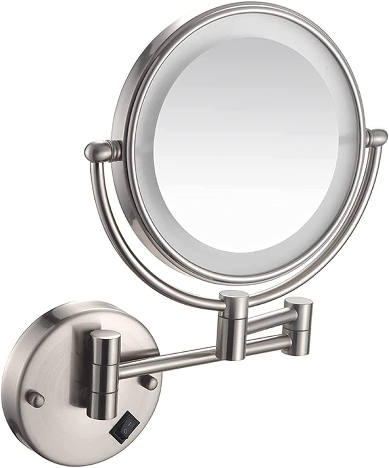 HXR Makeup Mirror with Boston Mall Lights Degree Rotation Ranking TOP6 360 Double-Sided