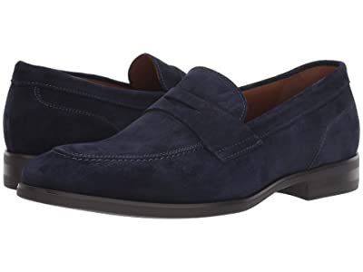 Bruno Magli Brando (Navy Suede) Men