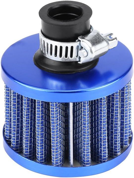 Air Filter, 13mm Universal Car Cold Air Intake Filter Kit Crankc