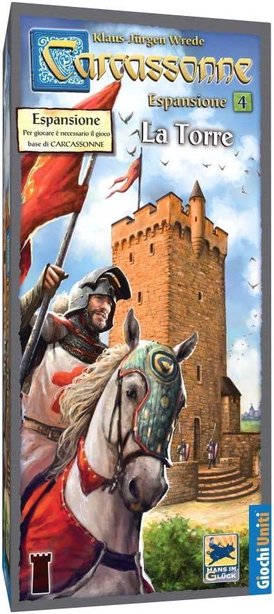 Giochi Uniti Carcassonne 5 La Torre - Juego de Mesa (versión en Italiano) [Importado de Italia]