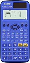 $45 » Casio FX-85SPXII – Scientific Calculator, Recommended for Spanish and Portuguese, 252 Functions, Solar, Blue
