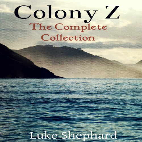 Colony Z audiobook cover art