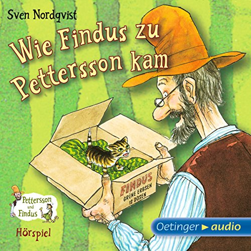 Wie Findus zu Pettersson kam audiobook cover art