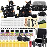 Tattoo Kit, CINRA 143Pcs Complete Tattoo Machine...